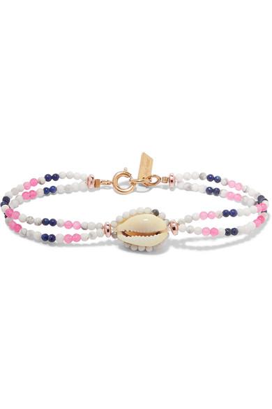 isabel marant bead&shell bracelet