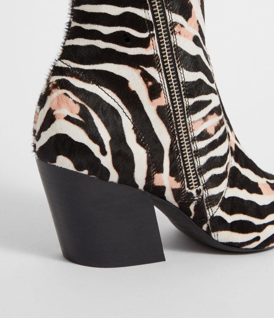 allsaint-zebraankleboots