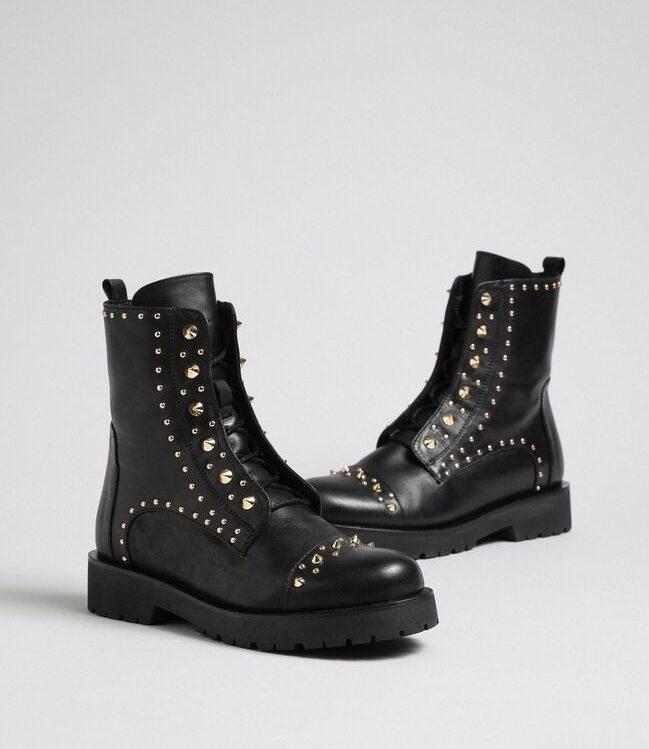 twin-set biker boots