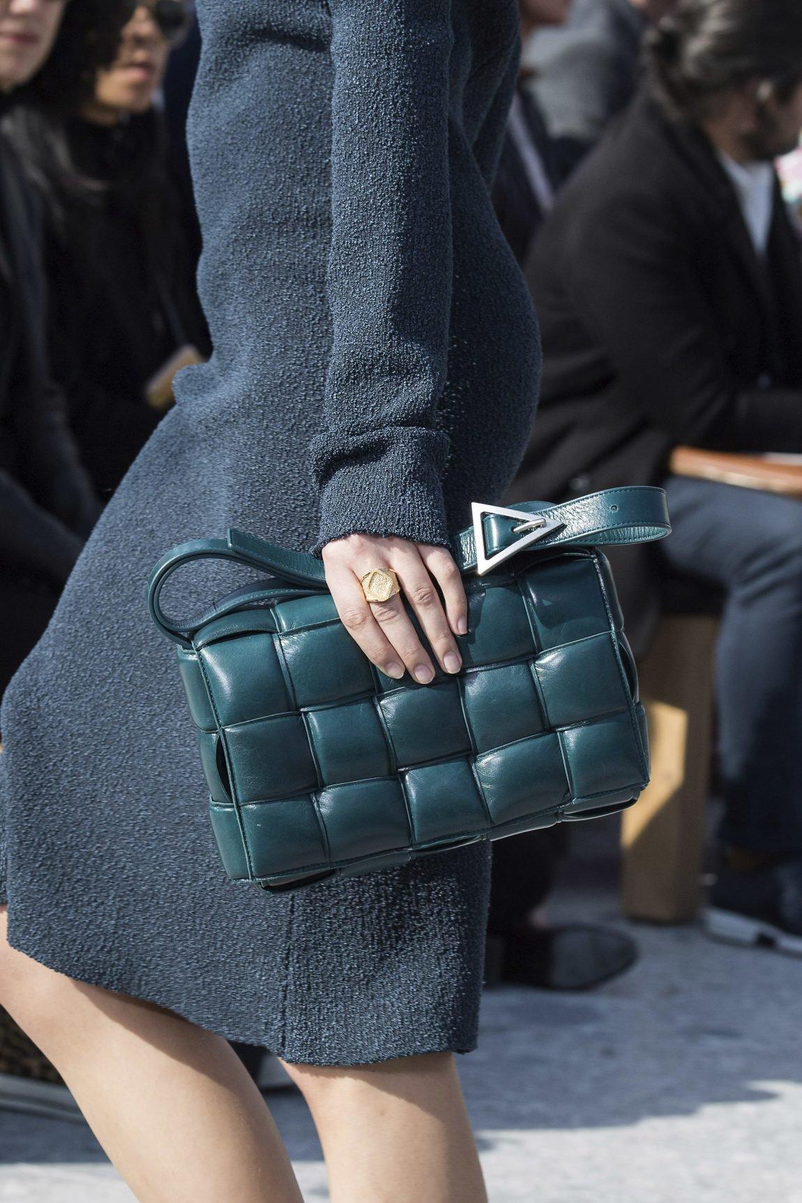 Bottega-Veneta-Blue-Green-Shoulder-Bag-Fall-2019