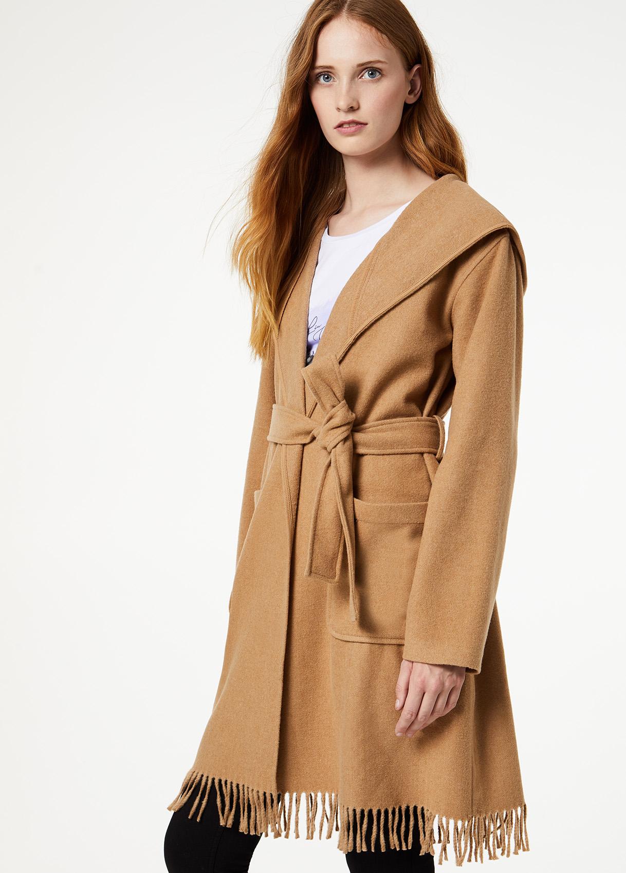 Liu Jo camel coat