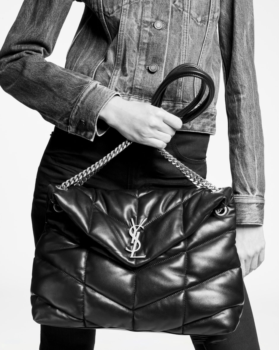 YSL puffer bag