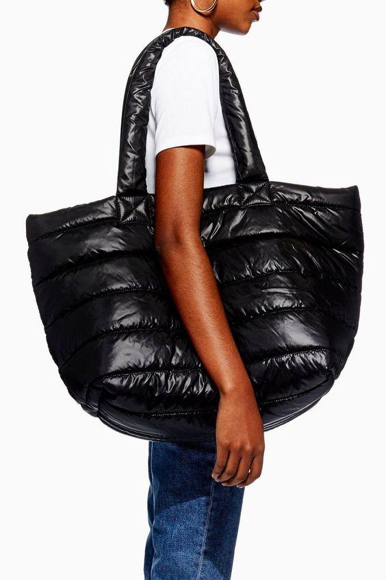 top shop puffer bag