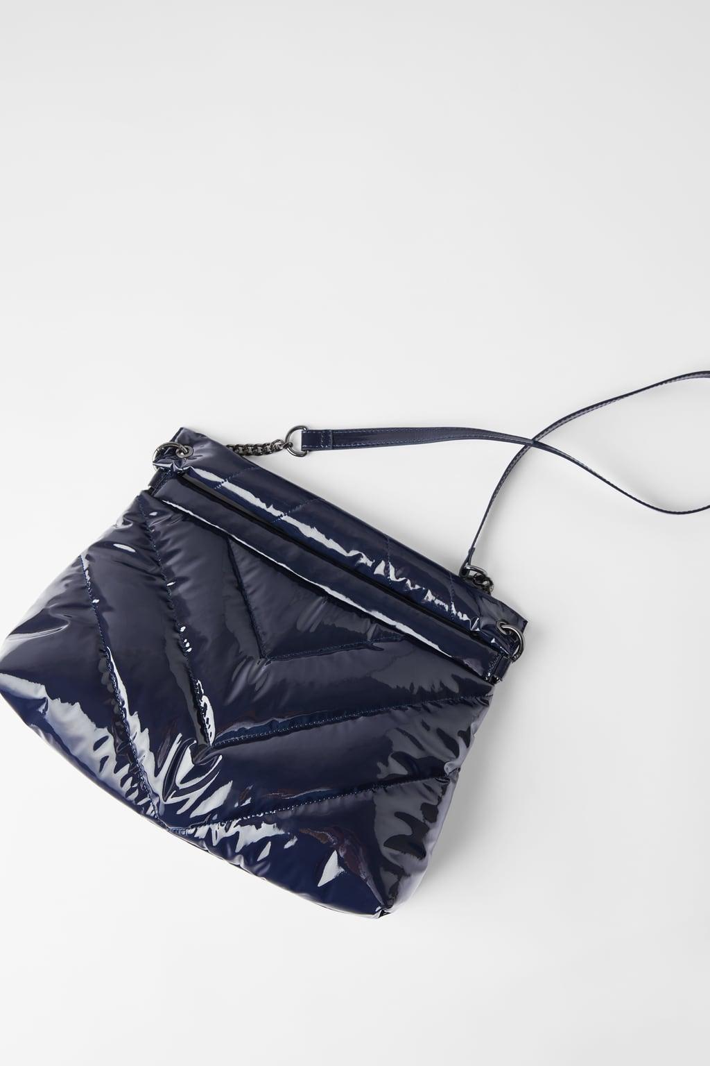 zara quilted maxicrossbody bag