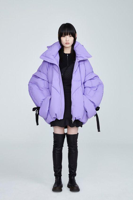 POP Fashion 20-21 AW Shanghai Womenswear Outerwear Puffy JacketChen Peng