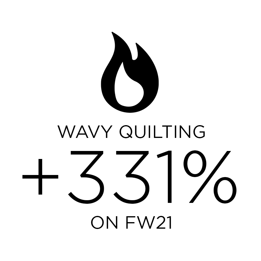 wavy quilting