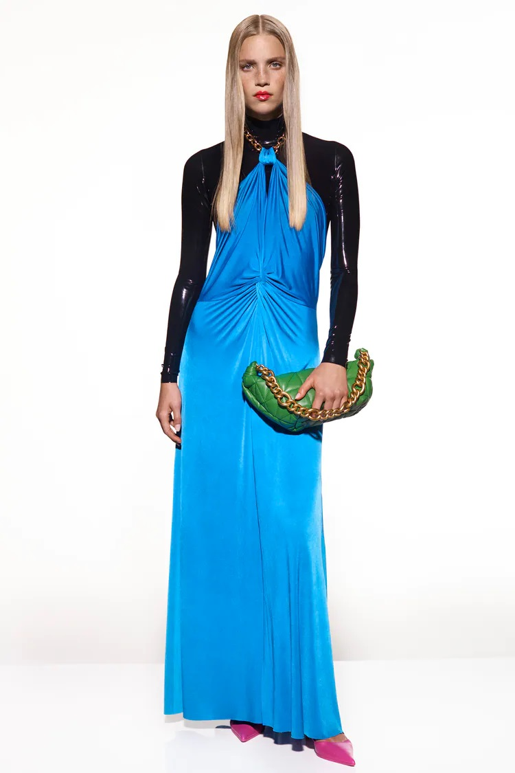 zara_jersey dress