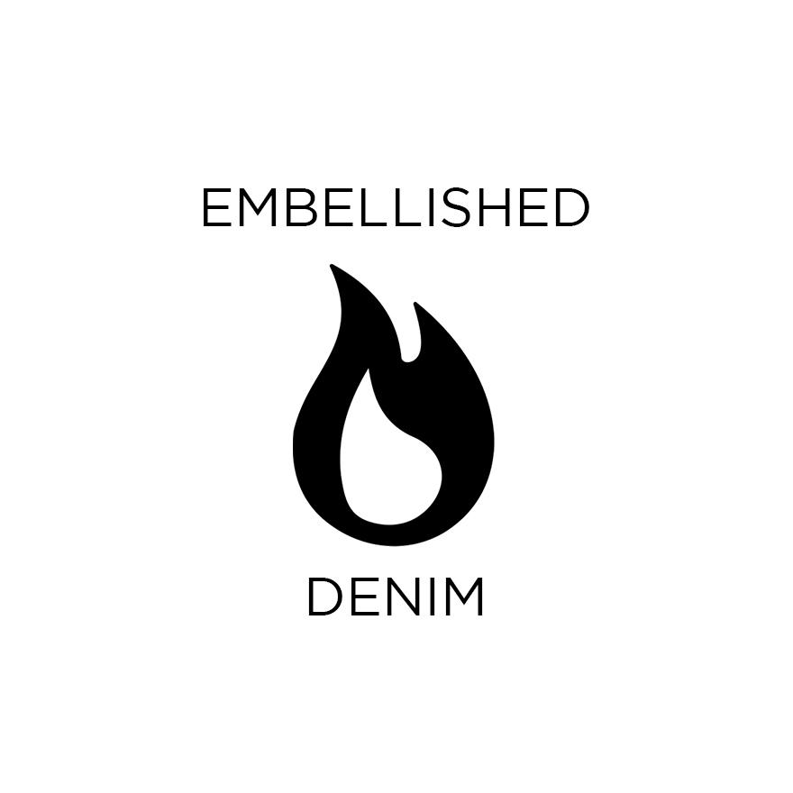 Embellished denim_hot trend